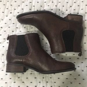 Nine West Dark Brown Booties
